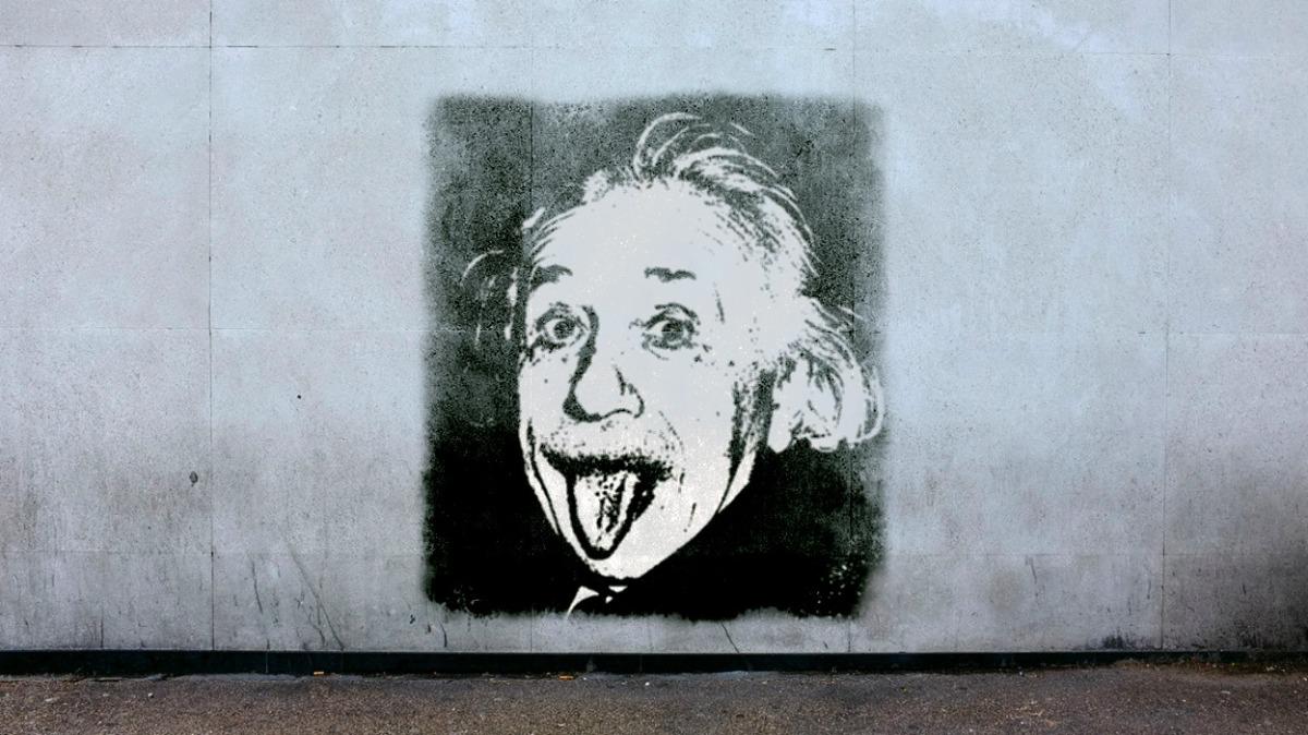 C'erano Einstein e Dio. Barzelletta esistenzialista