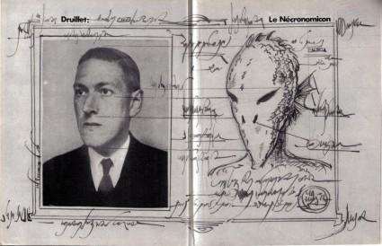 Lovecraft Philippe Druillet Necronomicon