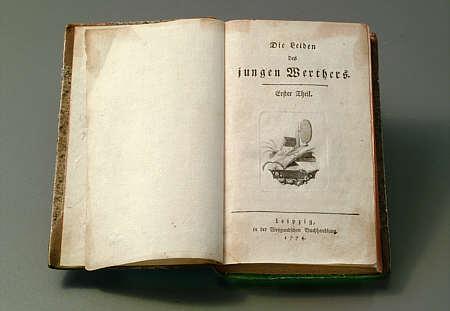 prima edizione werther